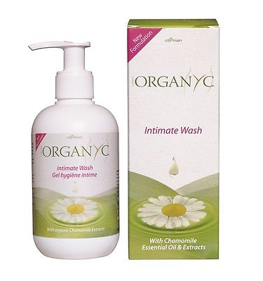 Organyc Intimate Wash 250 ml