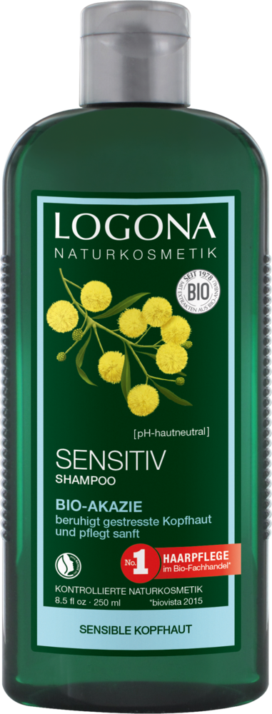 LOGONA Šampon Sensitive Bio Akácie 250 ml.