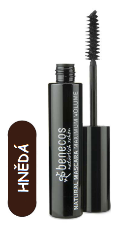 BENECOS Řasenka MAXIMUM VOLUME Smooth Brown - 8 ml.