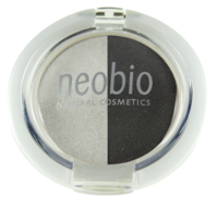 NEOBIO Oční stíny DUO 03 SMOKEY NIGHT 2,5 gr