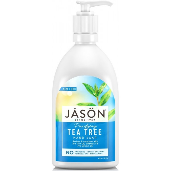 JASON Mýdlo tekuté Tea Tree - 473 ml.