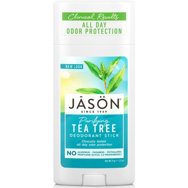 Deodorant tuhý Tea Tree  - 71 gr. - JASON