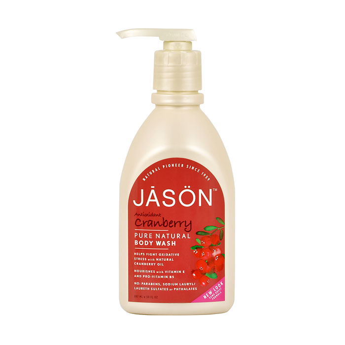 JASON Gel sprchový Brusinka - 887 ml
