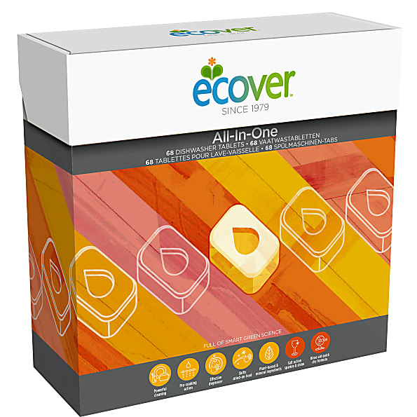 ECOVER tablety do myčky All in one XL balení 1,3 Kg