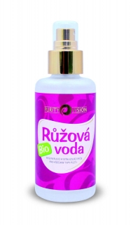 PURITY VISION Růžová voda BIO 100 ml.