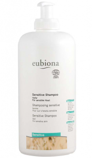 EUBIONA Šampon Sensitiv s ovsem 500 ml.