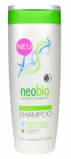 neobio Šampon SENSITIV Bio Aloe Vera 250 ml.