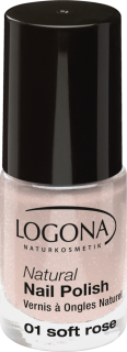 LOGONA Lak na nehty No. 01 Soft Rose - 4 ml.