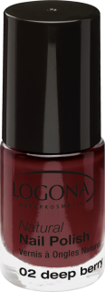 LOGONA Lak na nehty No. 02 DEEP BERRY 4 ml.