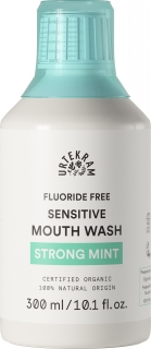 URTEKRAM Ústní voda Máta SENSITIVE - 300 ml.