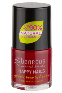 BENECOS Lak na nehty VINTAGE RED - 5 ml