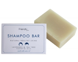 FRIENDLY SOAP Šampon tuhý Levandule a Tea Tree 95 gr.