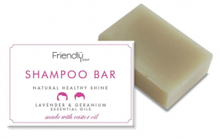 FRIENDLY SOAP Šampon tuhý Levandule a Geranium 95 gr.