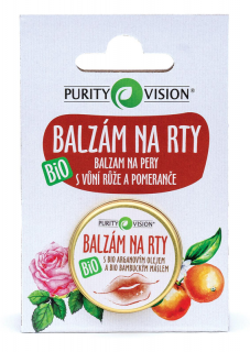 PURITY VISION Balzám na rty 12 ml.