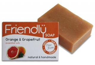 FRIENDLY SOAP Mýdlo Pomeranč a Grep 95 gr.