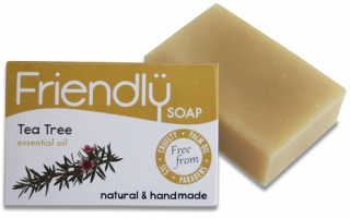 FRIENDLY SOAP Mýdlo Tea tree a kurkuma 95 gr.
