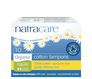 Natracare Tampóny Regular 10ks