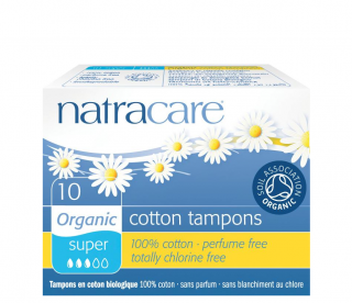Natracare Tampóny Super 10 ks