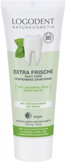 LOGONA Zubní pasta Extra Fresh Daily Care Máta 75 ml.